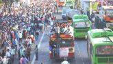 नई दिल्लीः आनंद विहार पर भयानक मंजर