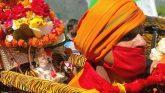 हिमालय के लिए रवाना हुई चतुर्थ केदार भगवान रुद्रनाथ की डोली, कोरोना संक्रमण के बीच 18 मई को खुलेंगे कपाट