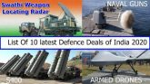 Latest defence deals of India 2020