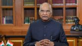 'Country indebted to frontline health warriors': President Ram Nath Kovind in his address to nation