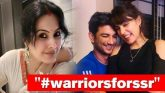 Kamya Punjabi Has Strong Message For Rhea Chakraborty On Sushant's Diary Note, Sipper Pics