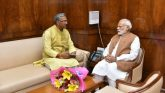 प्रधानमंत्री नरेन्द्र मोदी को उनके जन्मदिन पर मुख्यमंत्री ने दी बधाई