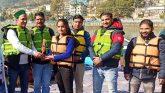 आयुष राणा व प्रियांजलि रमोला ने जीती क्याकिंग चैम्पियनशिप प्रतियोगिता
