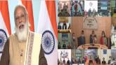 प्रधानमंत्री नरेंद्र मोदी ने राष्ट्रीय बाल पुरस्कार विजेता बच्चों के साथ वीडियो कॉन्फ्रेंसिंग के जरिए बातचीत की