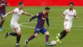 Lionel Messi scores,  Barcelona's 2-Zero win at Sevilla