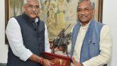मुख्यमंत्री ने नई दिल्ली में केन्द्रीय जलशक्ति मंत्री श्री गजेन्द्र सिंह शेखावत से भेंट की